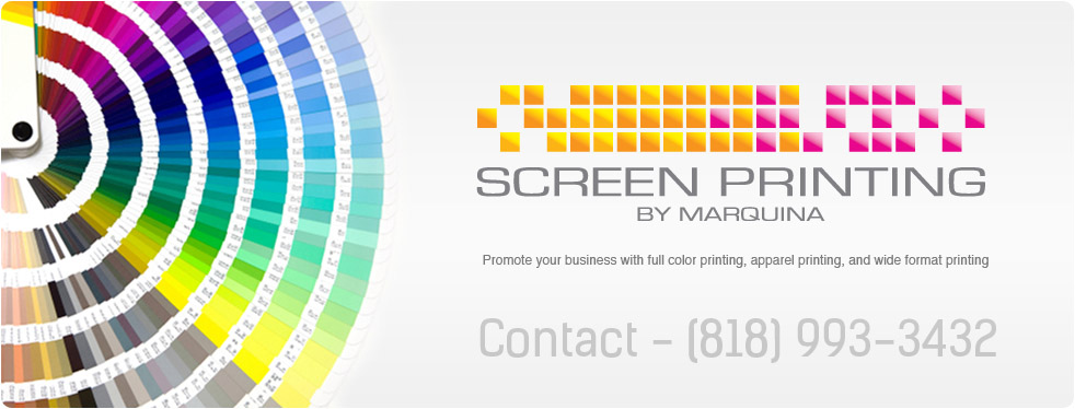Promote your business with full color printing, apparel printing, embroidery, and wide format printing